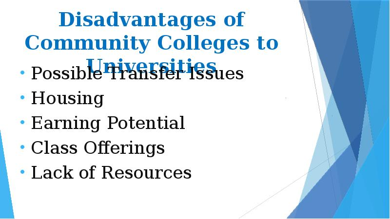 disadvantages of community service Meal community service, or service in a box discussions of the limits service-learning have surfaced on the internet why service learning is bad.