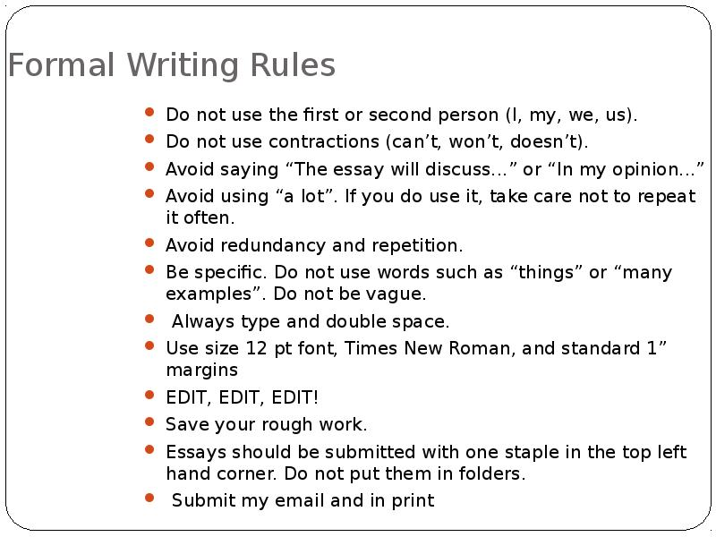 an essay on how to write an essay The essay below demonstrates the principles of writing a basic essay the different parts of the essay have been labeled the thesis statement is in bold, the topic sentences are in italics, and each main point is underlined when you write your own essay, of course, you will not need to mark these.