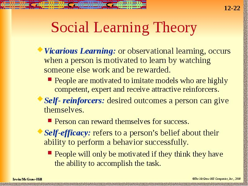 observational learning 3 essay Observational learning during this course we studied that behaviors can be learned through our own experiences or observing others learning is the knowledge obtained in life through education, interacting with people, experiences and practice.