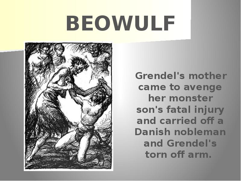 an analysis of the sir gawain and beowulf in the epic literature of anglo saxons Upholds the anglo saxon culture while sir gawain upholds the culture of the medieval times beowulf and sir gawain both embody their cultural ideals beowulf upholds many of the anglo saxons ideals for what an epic hero is.