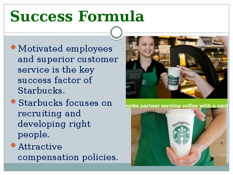 diversification of starbucks Starbucks coffee company's organizational culture is one of the most distinct characteristics of the firm a company's organizational culture widely influences employees and business performance in starbucks coffee's case, the company's organizational culture permeates all aspects of its business.