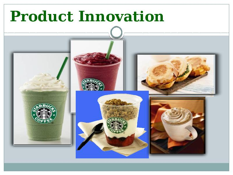 starbucks product innovation charter
