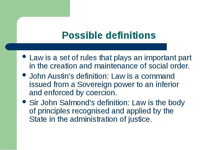 austin a command theory of law hart Paper 1: an analysis of hart's theory of primary and secondary rules in his essay, laws as a union of primary and secondary rules, hart criticizes austin's theory of laws as commands and argues for a new framework which describes laws as rules.