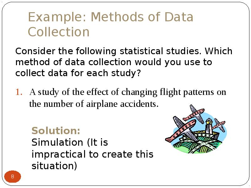 methods for data collection Module 2: methods of data collection - chapters 2 on-line lesson leisure research methods once a research question has been determined the next step is to identify which method will be appropriate and effective.