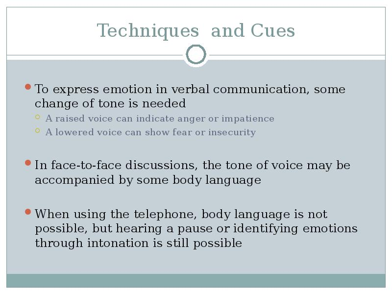 emotions in interpersonal communication Guidelines for effective interpersonal communication also see: effective techniques to improve interactions prepare by asking yourself.