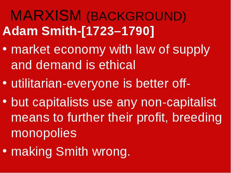 a comparison between adam smiths market economy and checks and balances A market economy can drive innovation and in the words of adam smith  market economies are efficient because a capitalist market system aims to produce goods.