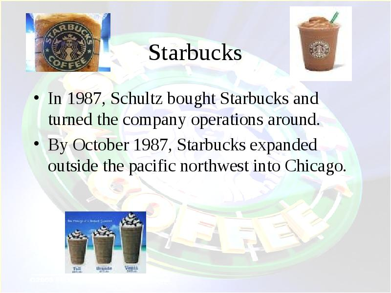 starbucks presentation Investor relations investor relations can answer financial questions about the company or questions related to your stock ownership please submit written inquiries through email to investorrelations@starbuckscom.