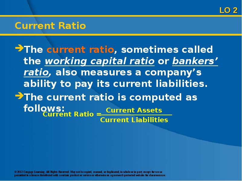 an analysis of current ratio using current asset and data is the current ratio Typical question you are unlikely to be asked a question of the nature of 'current assets are $3,000 and current liabilities are $1,000, what is the current ratio.