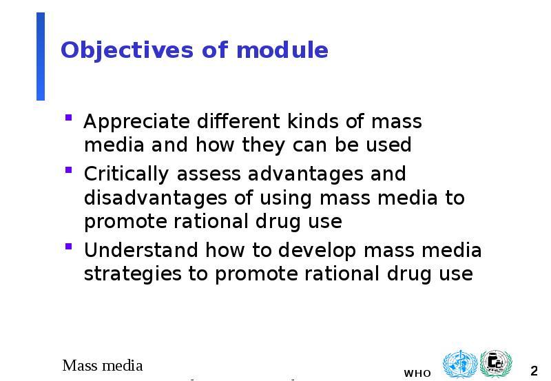 advantages of mass media