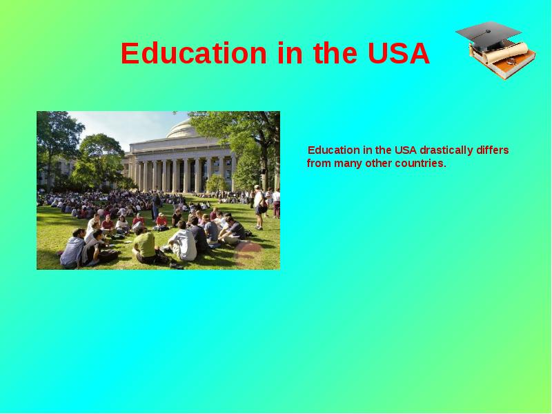 the differences of education systems in the us and in the authors country South africa's education system vs the world when looking at the overall quality of its education system the report's authors sent out a stern warning.