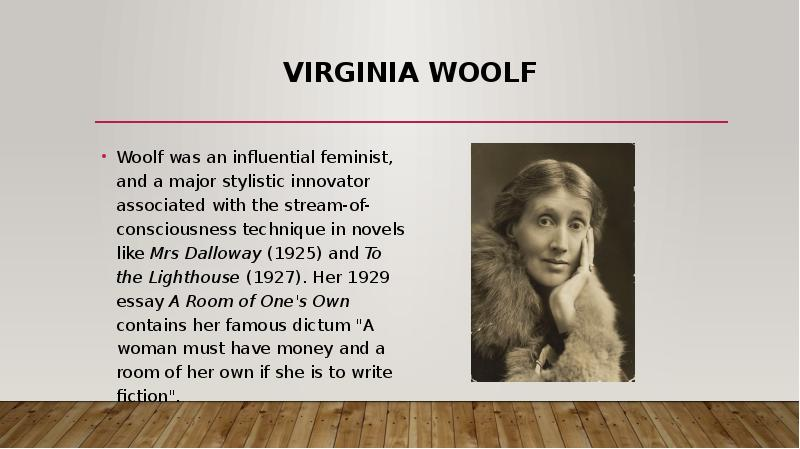 an analysis of virginia woolf on the words stream of consciousness Martin 1 linda martin dr wes chapman english 485 5 april 2010 the dark places of psychology: consciousness in virginia woolf's major novels.
