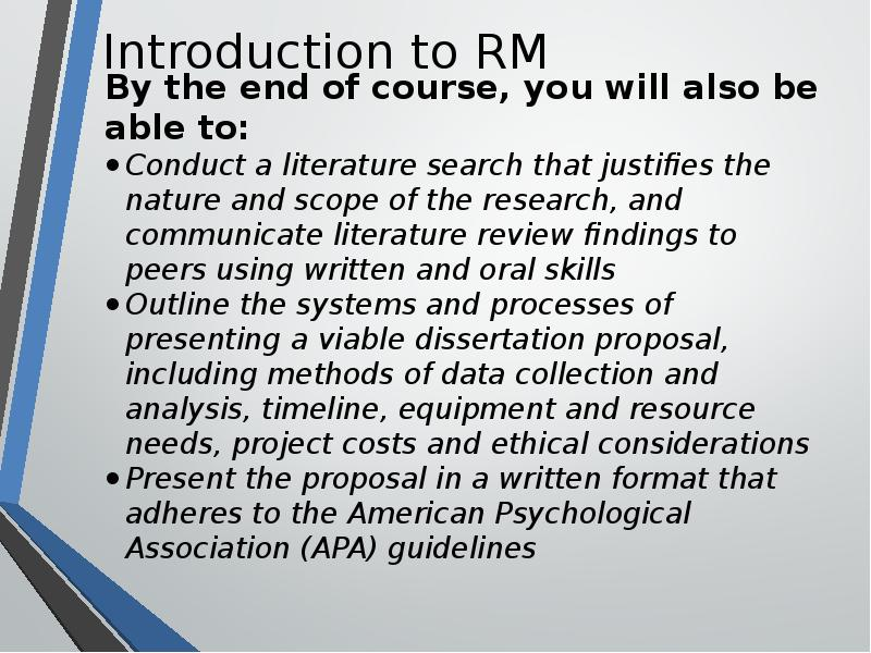 apa dissertation proposal Thesis and dissertation the purdue polytechnic institute has adopted the apa assists the student in developing their proposal and therefore covers how.