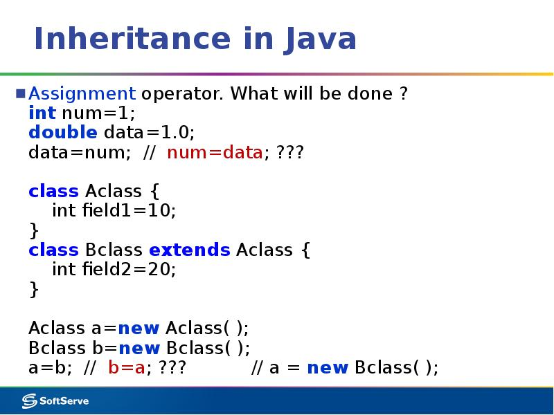 explaining inheritance support in java information technology essay Most modern programming languages, such as java, c#, ruby, and python, are object-oriented languages, which help group individual bits of code into a complex and coherent application.