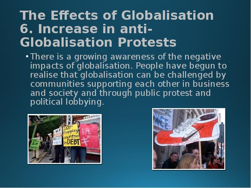 the negative effects of globalization
