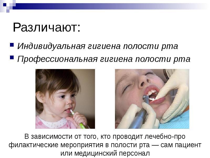 Профессиональная гигиена полости рта презентация