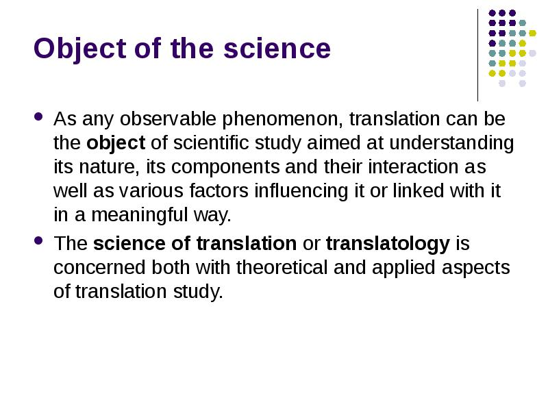 aspects of scientific translation Positive aspects meaning, definition 7 adj if a medical or scientific test is positive translation english cobuild collins dictionary.