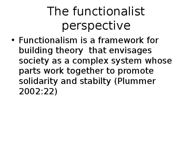 functionalist perspective and welfare reform Welfare state and points out real challenges provides an overview of the differ - ent parties' social policy programmes and discusses in detail the different areas of the welfare state, including work, pensions, health care, education/training.