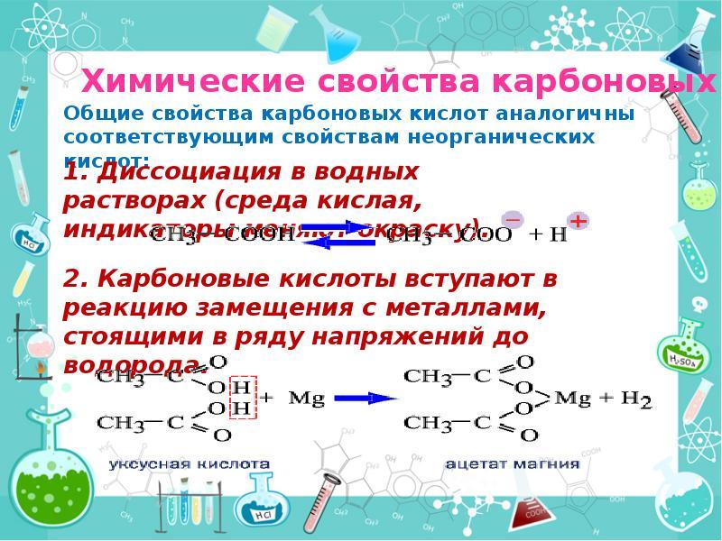 карбоновые кислоты 10