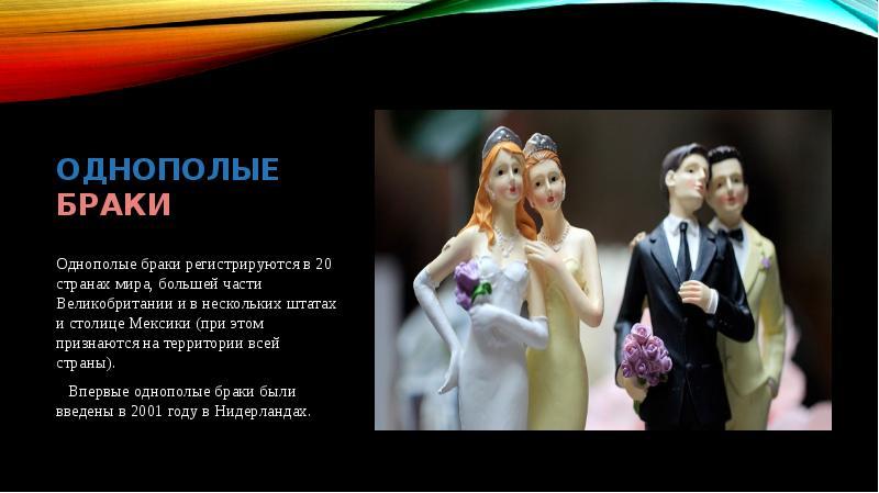 Реферат на тему однополые браки 1459