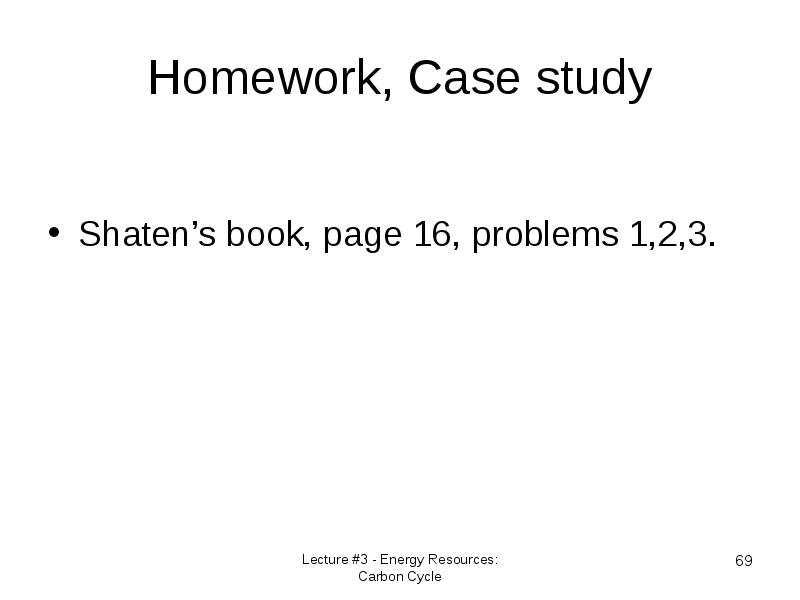 homework case A brand-new study on the academic effects of homework offers not only some intriguing this bias might seem a bit surprising in the case of the.
