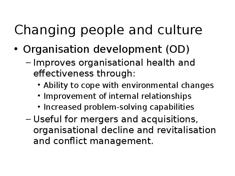 change and people How we work our work is informed by the expertise of people with learning disabilities which means we focus on delivering real change in areas that matter to them.