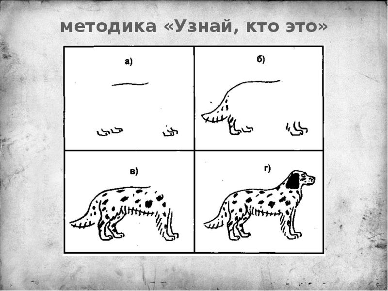 Картинки для методики узнай кто это