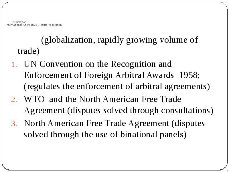 establishing and growing alternative dispute resolution