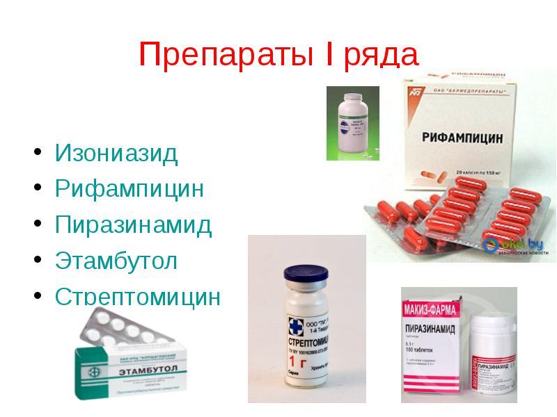Лекарство против туберкулеза