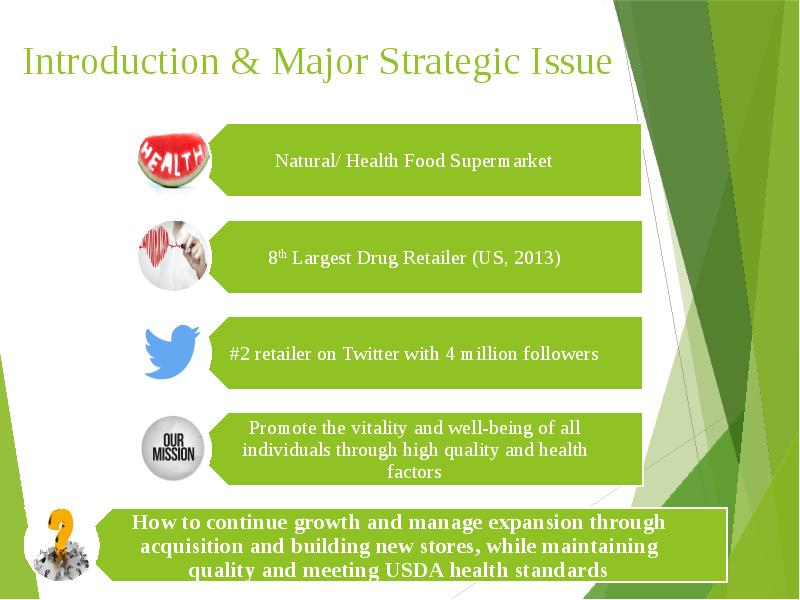 mission and external analysis of whole foods market Whole foods in 2014 case study whole foods market in core values, and strategy chaniqua hewlett analysis the minor problems that whole foods.