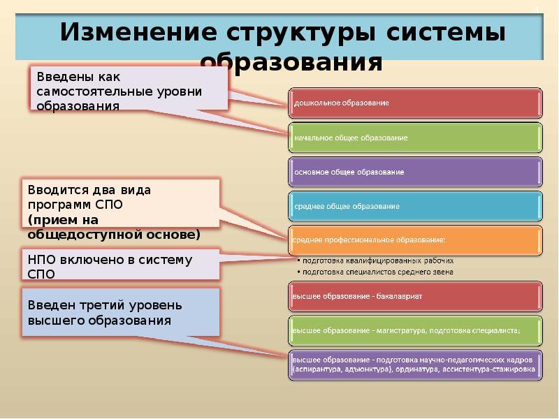 Уровни образования в россии картинки
