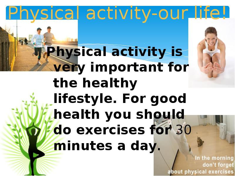importance of practicing healthy lifestyle Follow a healthy lifestyle practicing positive thinking every day if you tend to have a negative outlook, don't expect to become an optimist overnight.