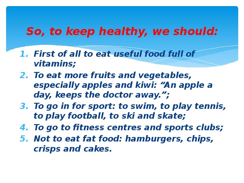 simple essay healthy lifestyle To live a healthy lifestyle, consistently choose healthy foods, fit more exercise and physical activity into your daily routine, and practice good hygiene you'll also need to avoid unhealthy habits, like fad dieting and neglecting sleep.