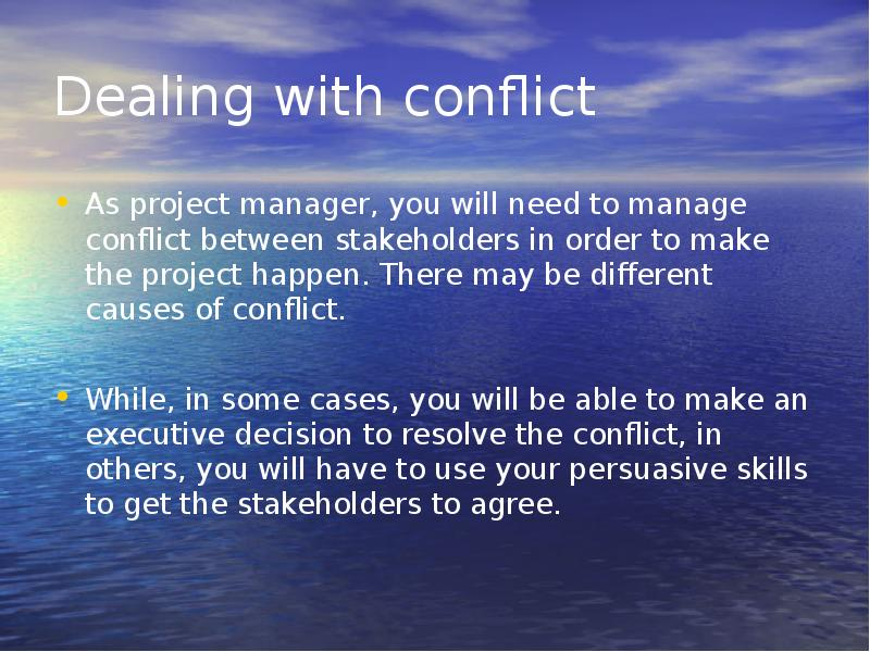 deals issues related conflict management Here you'll find online tools (free) that can be used to identify your conflict management styles, organizational health, and other related quizzes and assessments.