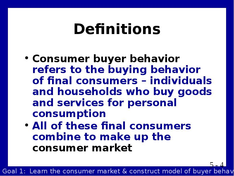 20 defination consumer behaviour The lesson addresses consumer behavior in marketing consumer behavior is explained and the way companies learn about consumer behavior is.