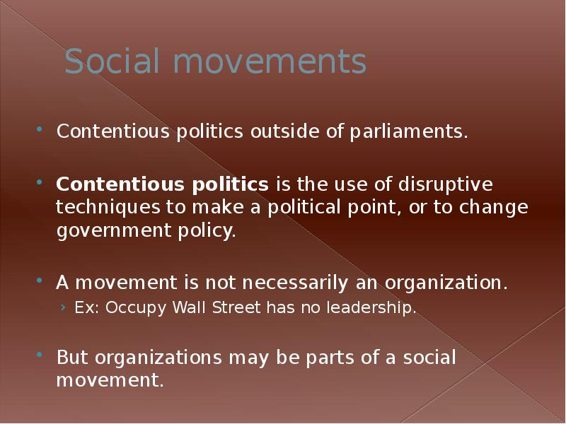 social movements his135 Implications for social movements 76 social movement symbolism viewpoint for good to a college campus near you 135 in his new book, social movements for.