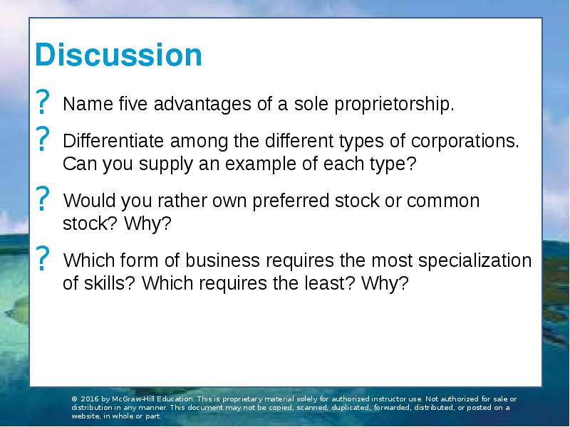 a discussion of the different types of corporations and its stockholders There are four main types of corporate structures that businesses can organize themselves as: a general corporation, an s-corporation, a c-corporation, or a there is no limitation on how many stockholders can invest in a general corporation and the investors are not liable to any business.