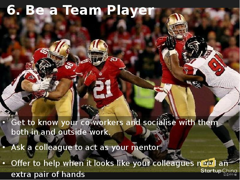 be a team player If teamwork is important to you, then you need to practice these three things to demonstrate that you're a team player.
