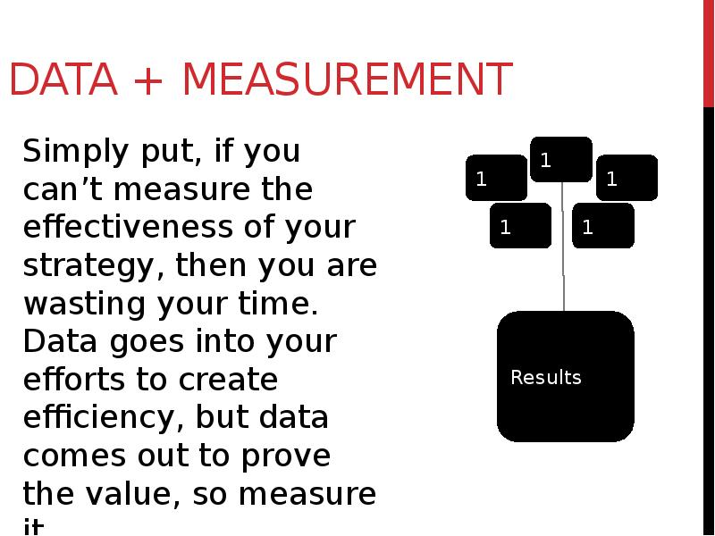 data measurement What units of measurement are used for data storage a: the smallest unit of measurement used for measuring data is a bit a single bit can have a value of either.