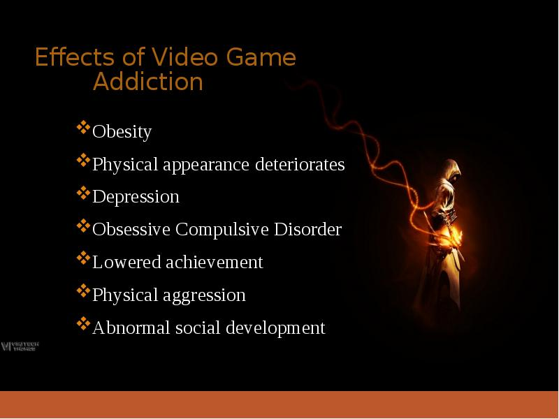 video game addiction effects Stephanie kucharski speaks on the effects of video game addiction on children.
