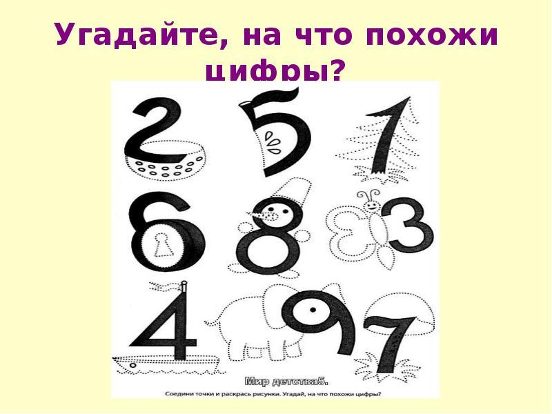 Буква а цифрами картинка каждом