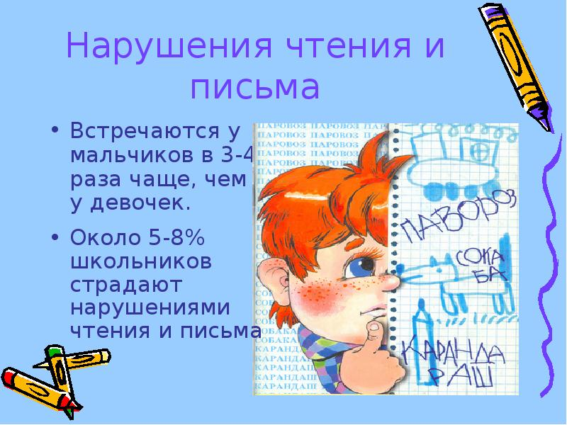 картинка нарушение письма тип человека