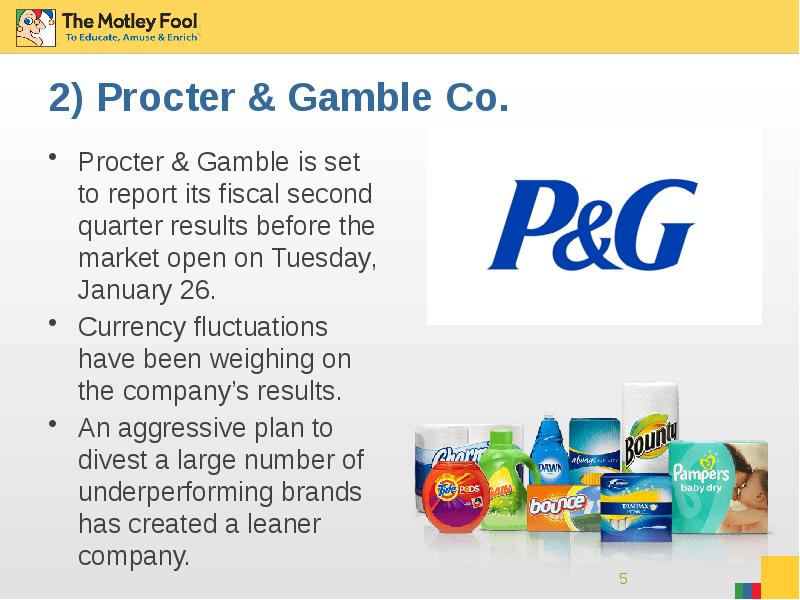 project report on procter and gamble