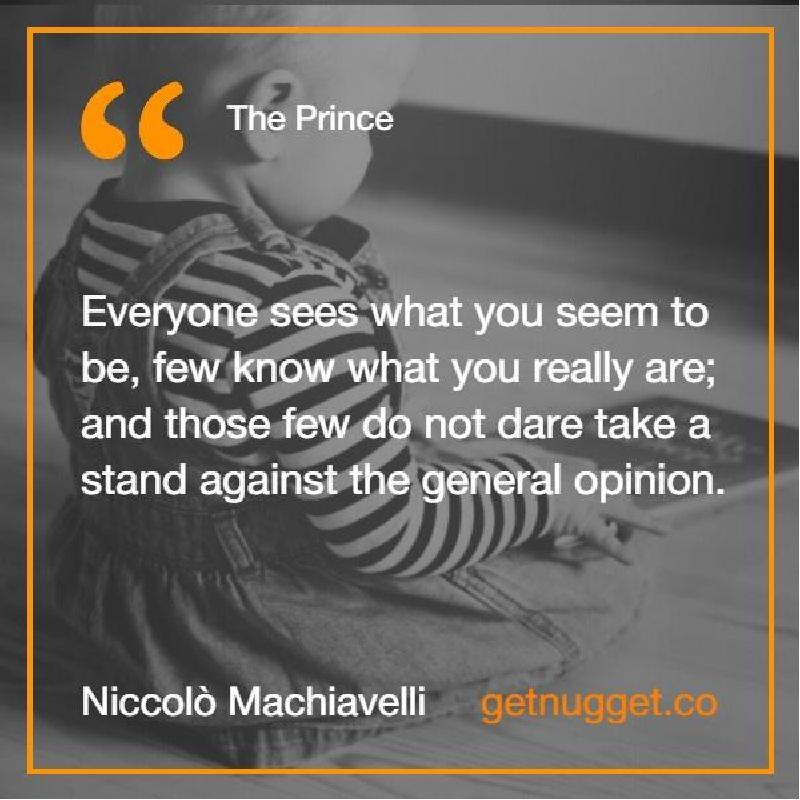 an analysis of the outsiders summary in the prince niccolo machiavelli Gizella marie e almeda 2010-51819 book title: the prince by niccolo machiavelli summary: the prince is a non-fiction book which shows the analysis of how to gain and maintain political power disregarding all moral and ethical values.