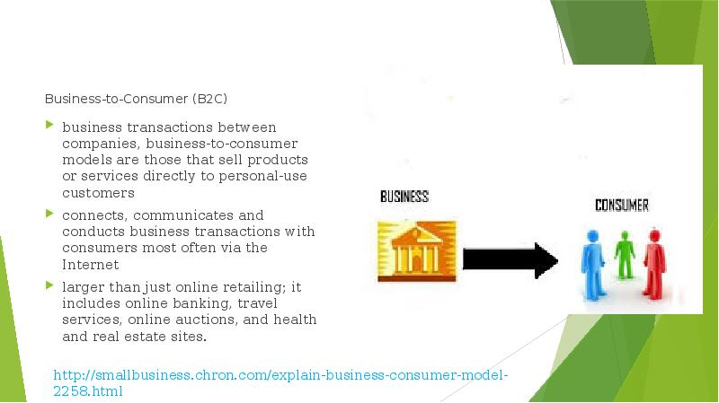 an analysis of the business to consumer b2c model A service to employees or organisational analysis indicates that the b2e e-business model is business models are business to consumer (b2c).