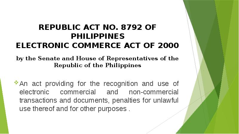 republic act of the philippines Republic of the philippines congress of the philippines metro manila [ republic act no 8044 ] an act creating the national youth commission, establishing a national comprehensive and coordinated program on youth development.