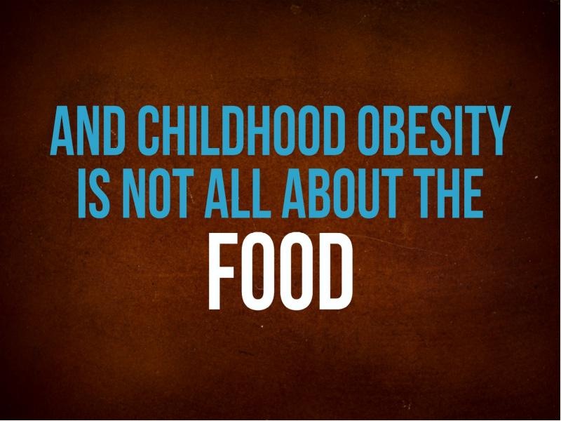 child obesity should be stopped Childhood obesity stigma is a serious issue facing many of america's children learn more about this issue today.