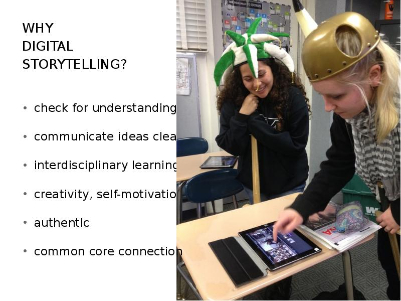"an analysis of storytelling in the classroom as a form of teaching Literature review claire burgoyne etec discussion of the benefits of digital storytelling to teaching and that ""storytelling is the original form of."