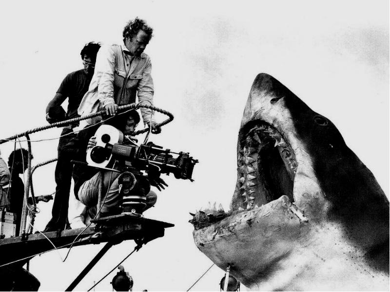 jaws by steven spielberg essay Analyse the ways that the director builds suspense and scares the audience in the film 'jaws' the film jaws was directed by steven spielberg in 1975 it was a good film at the time, and still is because steven spielberg is known for creating films that build suspense and scare people.