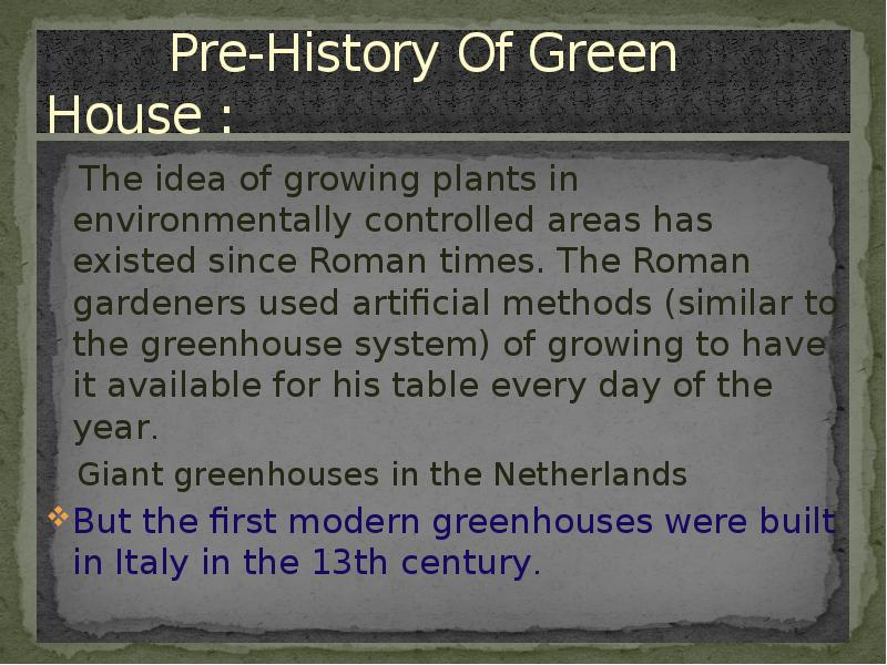 the green house effect and its [15] greenhouse gases in the atmosphere main article:greenhouse effect the greenhouse effect was discovered byjoseph fourier in 1824 and was first investigated quantitatively bysvante arrheniusin 1896.