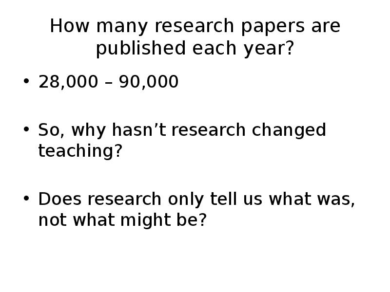 research papers published Home » world class science » 100+ published research studies peer-reviewed research papers published in scientific journals—and many more studies are underway.